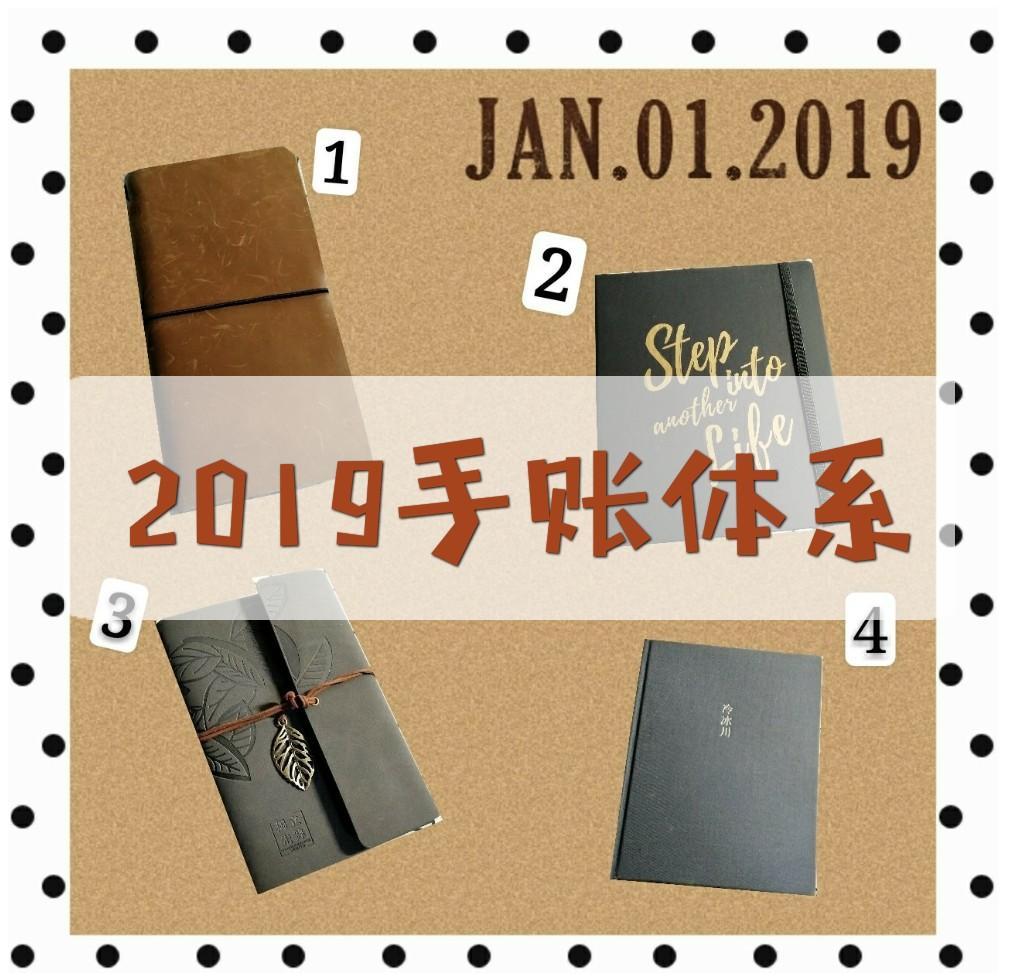 2019手帐体系噔噔蹬蹬~~冬..., 手帐工具