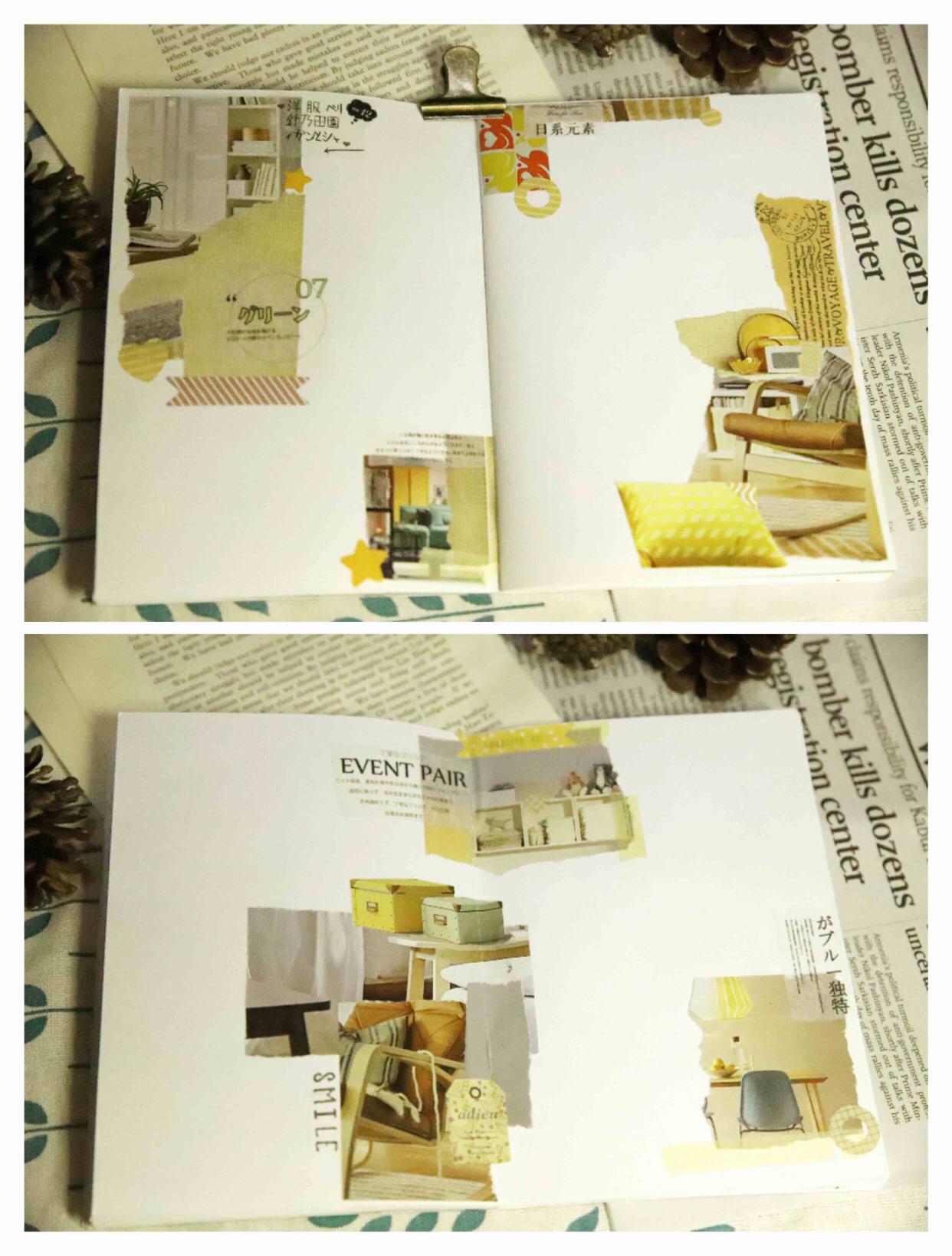 手帐 安利宜家宣传册,高质量图,色调... ,手帐工具